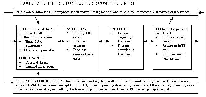 Chapter 2 other models for promoting community health and for Evaluation logic model template