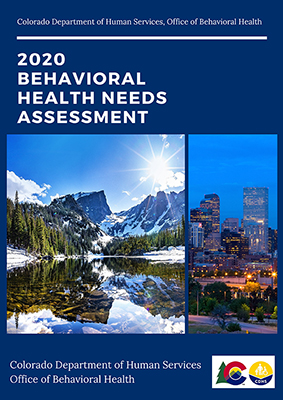 Cover of the 2020 Behavioral Health Needs Assessment