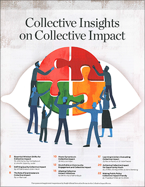 Cover Image of Collective Insights on Collective Impact, linking to the full document.