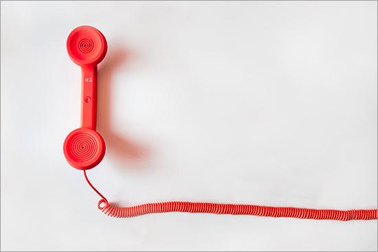Photo of telephone.