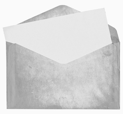 Image of a dirty envelope.