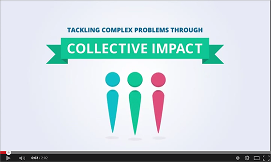 Image of Collective Impact video on YouTube.