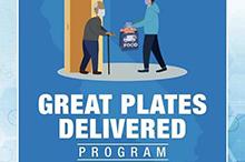Image of Great Plates Delivered logo.