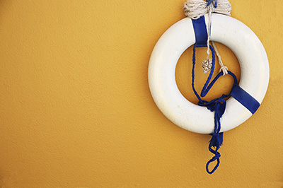 Image of a lifebuoy.