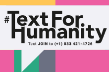 Thumbnail of the text for humanity logo.