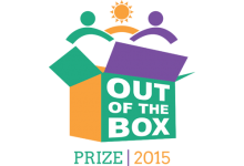 Image of Community Tool Box Out of the Box Prize 2015 logo.