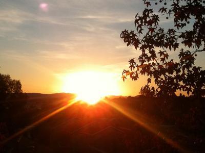 Photo of sunrise.
