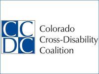 Colorado Cross-Disability Coalition logo.