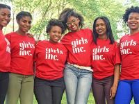 Photo of girls from Girls, Inc. in Omaha.