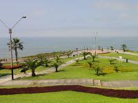 Photo of a park in Lima, Peru.